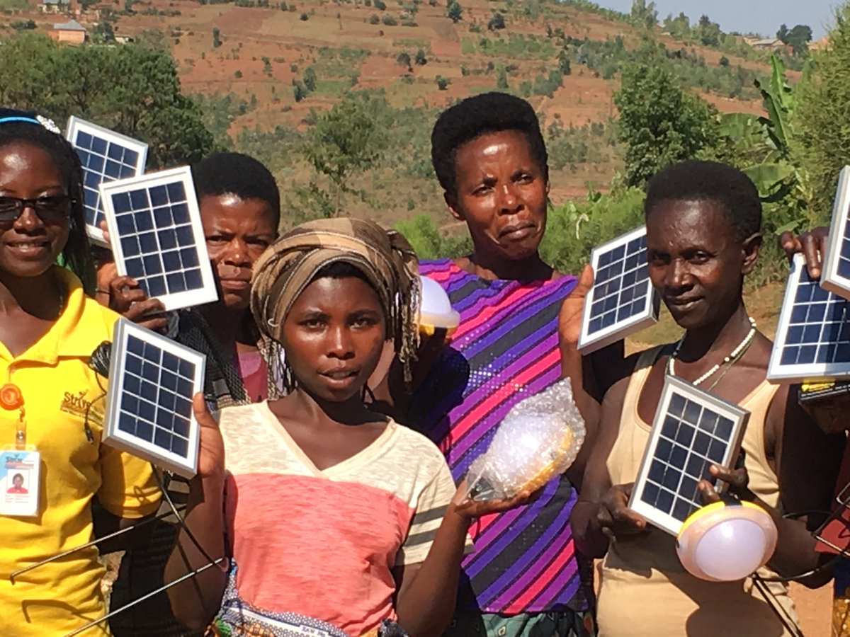 Solar-lamps for a lasting change!